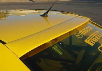 Spoilers - Custom Wing - VIS Racing - Mazda Protege VIS Racing Upper Window Spoiler - 890673