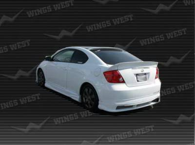 Spoilers - Custom Wing - Wings West - Scion tC Wings West A-Spec Spoiler - 3PC - 890860