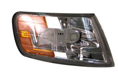Headlights & Tail Lights - Corner Lights - Anzo - Honda Accord Anzo Euro Corner Lights - Clear with Amber Reflectors - 521028