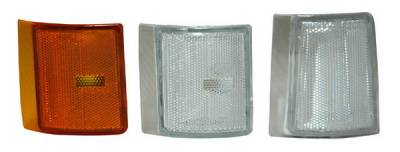 Headlights & Tail Lights - Corner Lights - Anzo - GMC Yukon Anzo Corner Lights - Clear - 6PC - 521030