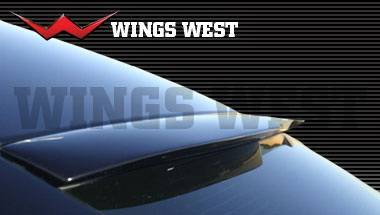 Spoilers - Custom Wing - Wings West - Dodge Charger Wings West LSC Custom Roof Spoiler - 890869