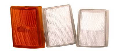 Headlights & Tail Lights - Corner Lights - Anzo - Chevrolet CK Truck Anzo Corner Lights - Clear with Amber Reflectors - 6PC - 521031