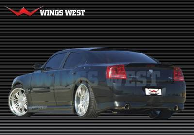 Spoilers - Custom Wing - VIS Racing - Dodge Charger VIS Racing LSC Custom Rear Spoiler - Urethane - 890870