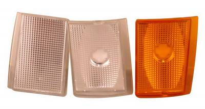 Headlights & Tail Lights - Corner Lights - Anzo - Chevrolet CK Truck Anzo Euro Corner Lights - with Amber Reflectors - 6PC - 521032