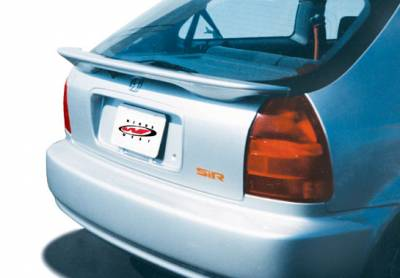 Spoilers - Custom Wing - VIS Racing - Honda Civic HB VIS Racing Sir Custom Wing without Light - 960016