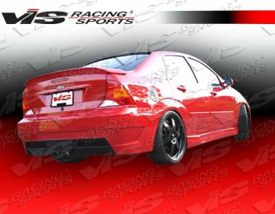 Spoilers - Custom Wing - VIS Racing - Ford Focus 4DR VIS Racing Viper Spoiler - 00FDFOC4DVR-003