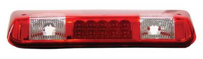 Headlights & Tail Lights - Third Brake Lights - Anzo - Ford F150 Anzo LED Third Brake Light - Red & Clear - 531003