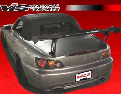 Spoilers - Custom Wing - VIS Racing - Honda S2000 VIS Racing SP Style Carbon Fiber Rear Spoiler - 00HDS2K2DSP-003C