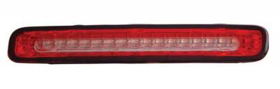 Headlights & Tail Lights - Third Brake Lights - Anzo - Ford Mustang Anzo LED Third Brake Light - Red & Clear - 531004