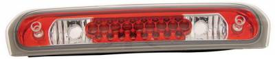 Headlights & Tail Lights - Third Brake Lights - Anzo - Dodge Ram Anzo LED Third Brake Light - Red & Clear - 531007