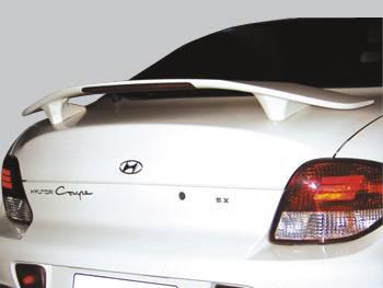 Spoilers - Custom Wing - VIS Racing - Hyundai Tiburon VIS Racing Factory Style Spoiler - 00HYTIB2DOE-003