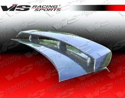 Spoilers - Custom Wing - VIS Racing - Nissan Sentra VIS Racing Techno R Spoiler - 00NSSEN4DTNR-003