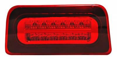 Headlights & Tail Lights - Third Brake Lights - Anzo - Chevrolet S10 Anzo LED Third Brake Light - Red & Clear - 531020