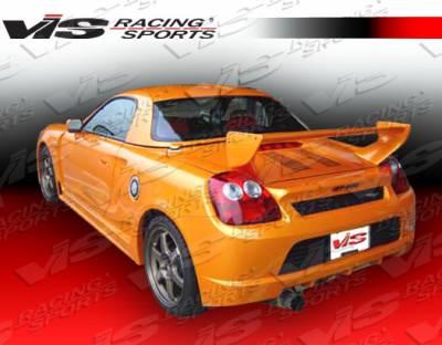 Spoilers - Custom Wing - VIS Racing - Toyota MRS VIS Racing Techno R GT Spoiler - 00TYMRS2DTNRGT-003