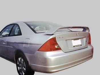 Spoilers - Custom Wing - VIS Racing - Honda Civic 2DR VIS Racing Factory Style Spoiler - 01HDCVC2DOE-003