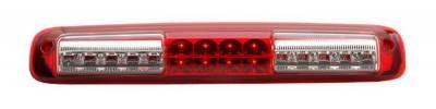 Headlights & Tail Lights - Third Brake Lights - Anzo - GMC Sierra Anzo LED Third Brake Light - Red - 531029