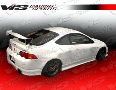 Spoilers - Custom Wing - VIS Racing - Acura RSX VIS Racing Techno R Spoiler - 02ACRSX2DTNR-003