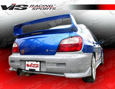 Spoilers - Custom Wing - VIS Racing - Subaru WRX VIS Racing STI Spoiler - 02SBWRX4DSTI-003