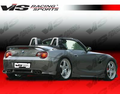 Spoilers - Custom Wing - VIS Racing - BMW Z4 VIS Racing Euro Tech Spoiler - 03BMZ42DET-003