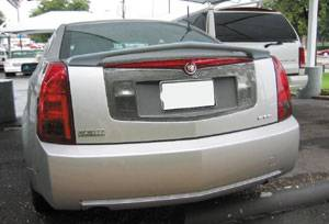 Spoilers - Custom Wing - VIS Racing - Cadillac CTS VIS Racing VIP Rear Spoiler - 03CACTS4DVIP-003
