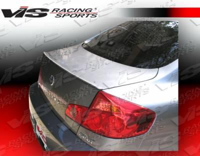 Spoilers - Custom Wing - VIS Racing - Infiniti G35 2DR VIS Racing M3 Spoiler - 03ING352DM3-003