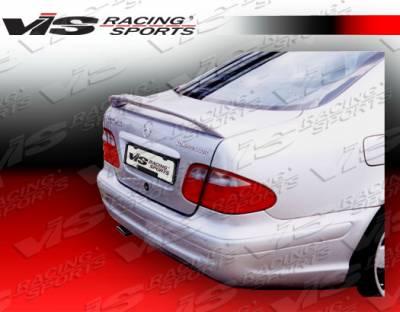Spoilers - Custom Wing - VIS Racing - Mercedes-Benz CLK VIS Racing Euro Tech Front Spoiler - 03MEW2092DET-003