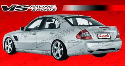 Spoilers - Custom Wing - VIS Racing - Mercedes-Benz E Class VIS Racing Laser Roof Spoiler - 03MEW2114DLS-023
