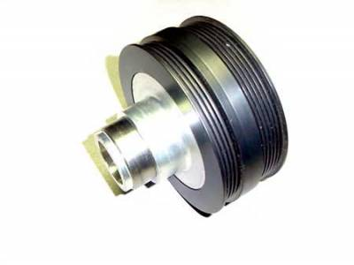 Performance Parts - Pulleys - Auto Specialties - Auto Specialties Harmonic Balancer Pulley with 25 Percent Reduction - Full Charge 950 RPM - Nitride - 549900