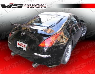 Spoilers - Custom Wing - VIS Racing - Nissan 350Z VIS Racing GT Spoiler - 03NS3502DGT-003