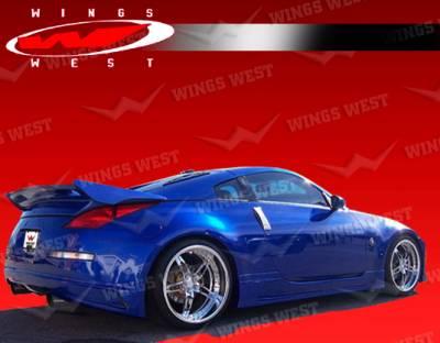 Spoilers - Custom Wing - VIS Racing - Nissan 350Z VIS Racing JPC Type A Rear Spoiler - 03NS3502DJPCA-003