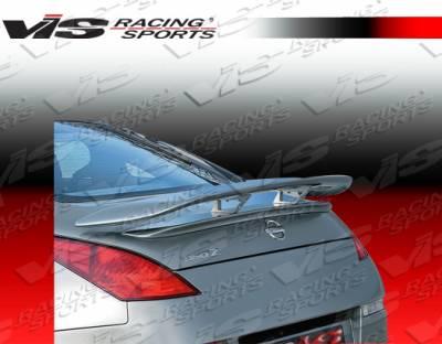 Spoilers - Custom Wing - VIS Racing - Nissan 350Z VIS Racing Milano Spoiler - 03NS3502DMIL-003