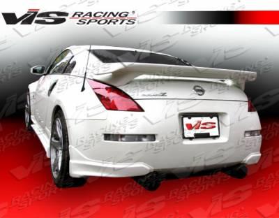 Spoilers - Custom Wing - VIS Racing - Nissan 350Z VIS Racing Octane Spoiler - 03NS3502DOCT-003