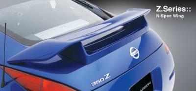 Spoilers - Custom Wing - 3dCarbon - Nissan 350Z 3dCarbon N-SpecC Rear Wing - 591001
