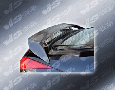 Spoilers - Custom Wing - VIS Racing - Nissan 350Z VIS Racing Carbon Fiber Techno-R Spoiler - 03NS3502DTNR-003C