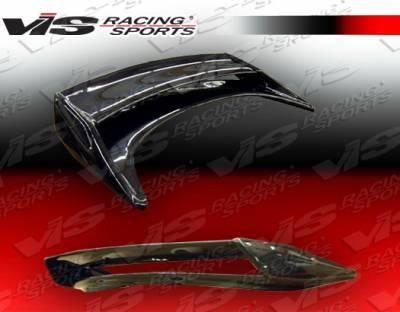 Spoilers - Custom Wing - VIS Racing. - Nissan 350Z VIS Racing Techno R-2 Spoiler - 03NS3502DTNR2-003