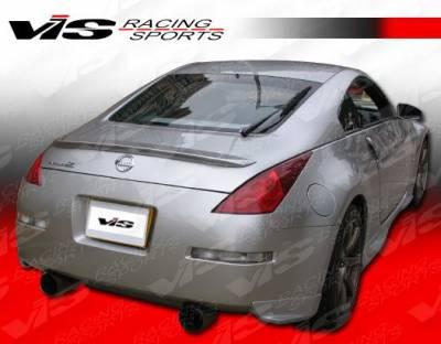 Spoilers - Custom Wing - VIS Racing - Nissan 350Z VIS Racing Techno R-3 Spoiler - 03NS3502DTNR3-003