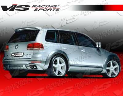 Spoilers - Custom Wing - VIS Racing - Volkswagen Touareg VIS Racing Otto Roof Spoiler - 03VWTOU4DOTT-023