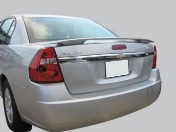 Spoilers - Custom Wing - VIS Racing - Chevrolet Malibu VIS Racing Factory Style Spoiler - 04CHMAL4DOE-003