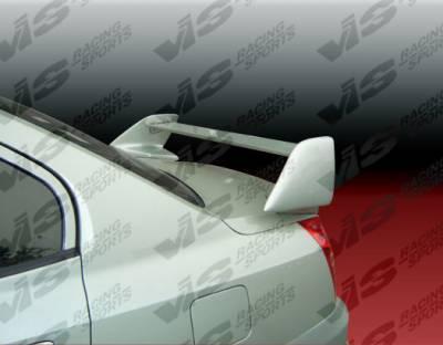 Spoilers - Custom Wing - VIS Racing - Hyundai Elantra 4DR VIS Racing Cyber Spoiler - 04HYELA4DCY-003