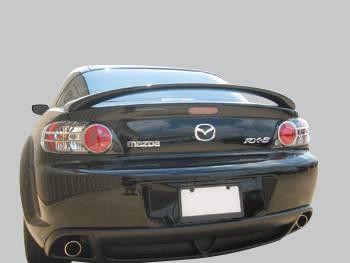 Spoilers - Custom Wing - VIS Racing - Mazda RX-8 VIS Racing Factory Style Spoiler - 04MZRX82DOE-003