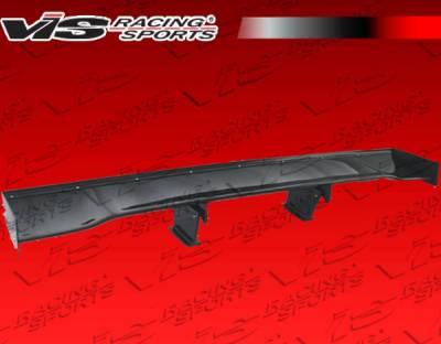 Spoilers - Custom Wing - VIS Racing - Ferrari F430 VIS Racing GT 2 Style Carbon Fiber Spoiler - 05FR4302DGT2-003C
