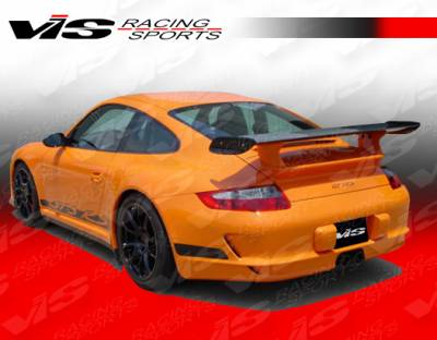 Spoilers - Custom Wing - VIS Racing - Porsche 911 VIS Racing D3 RS Spoiler with Engine Lid Converter - 05PS9972DD3RS-003