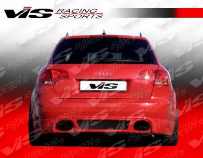 Spoilers - Custom Wing - VIS Racing - Audi A4 VIS Racing R Tech Roof Spoiler - 06AUA44DRTH-023