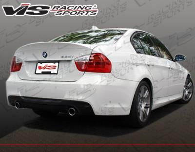 Spoilers - Custom Wing - VIS Racing - BMW 3 Series 4DR VIS Racing M-Tech Rear Spoiler - 06BME904DMTH-003