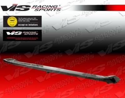 Spoilers - Custom Wing - VIS Racing - Honda Civic 2DR VIS Racing Si Style Carbon Fiber Spoiler - 06HDCVC2DSI-003C