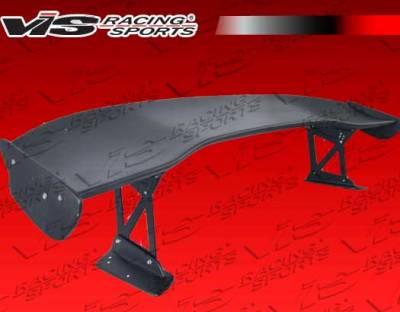 Spoilers - Custom Wing - VIS Racing - Honda Civic 4DR VIS Racing JS Spoiler - 06HDCVC4DJS-003
