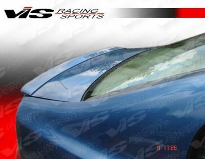 Spoilers - Custom Wing - VIS Racing - Honda Civic 4DR VIS Racing VIP Spoiler - 06HDCVC4DVIP-003