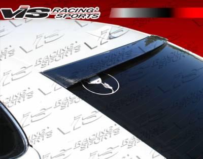 Spoilers - Custom Wing - VIS Racing - Lexus IS VIS Racing Techno-R Carbon Fiber Roof Spoiler - 06LXIS34DTNR-023C