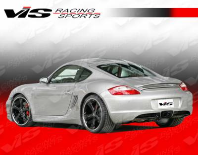 Spoilers - Custom Wing - VIS Racing - Porsche Cayman VIS Racing A-Tech Rear Spoiler - 06PSCAM2DATH-003
