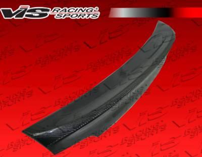 Spoilers - Custom Wing - VIS Racing - BMW 3 Series 2DR VIS Racing CSL Style 2 Carbon Fiber Spoiler - 07BME922DCSL2-003C